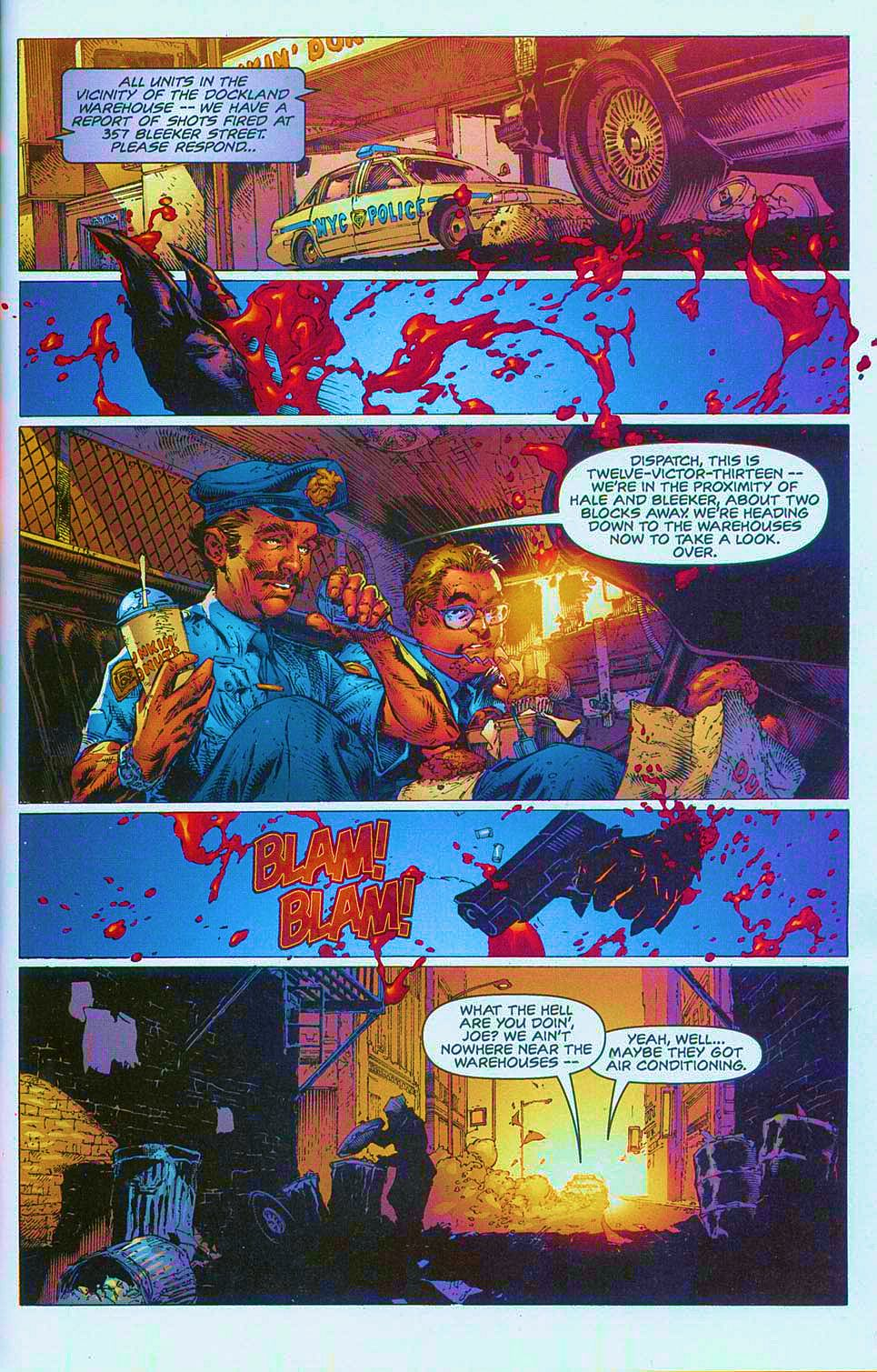 Read online Overkill: Witchblade/Aliens/Darkness/Predator comic -  Issue #1 - 9