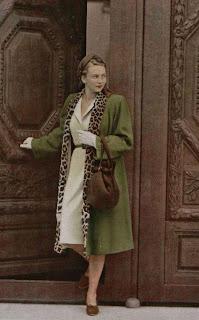 1940s style winter coat