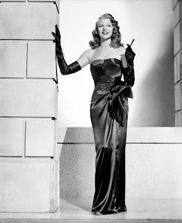 Rita Hayworth wears Jacques Fath