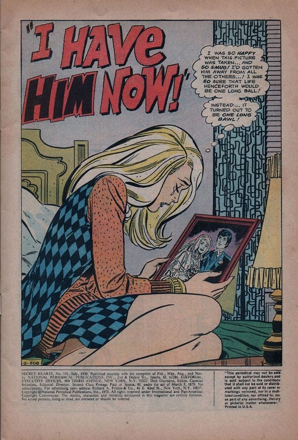 Read online Secret Hearts comic -  Issue #145 - 3