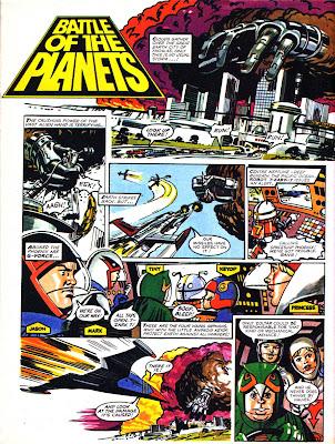 British Comic Art: Battle of the Planets