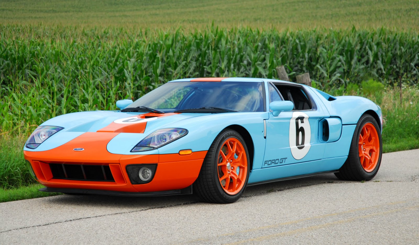 2006 Ford Gt Heritage Edition Sharp Carros Para