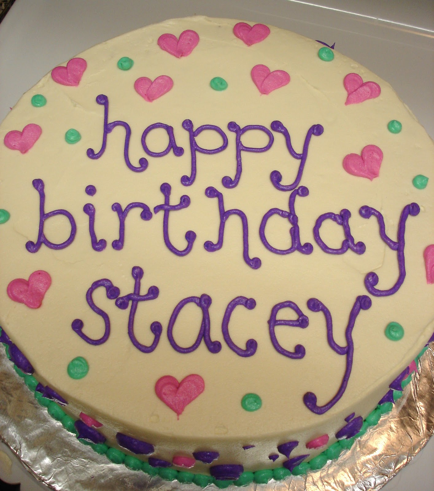 Happy Birthday Stacey Cake Images