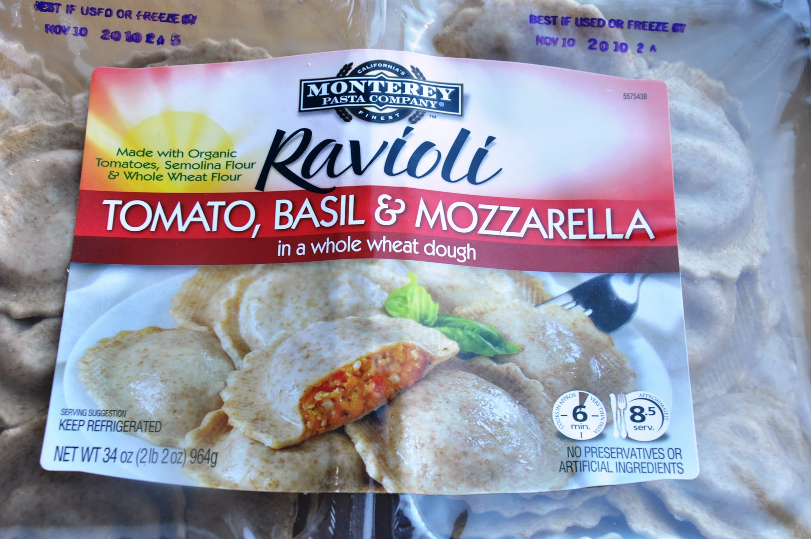 Product Review: Monterey Pasta Company's - Tomato, Basil