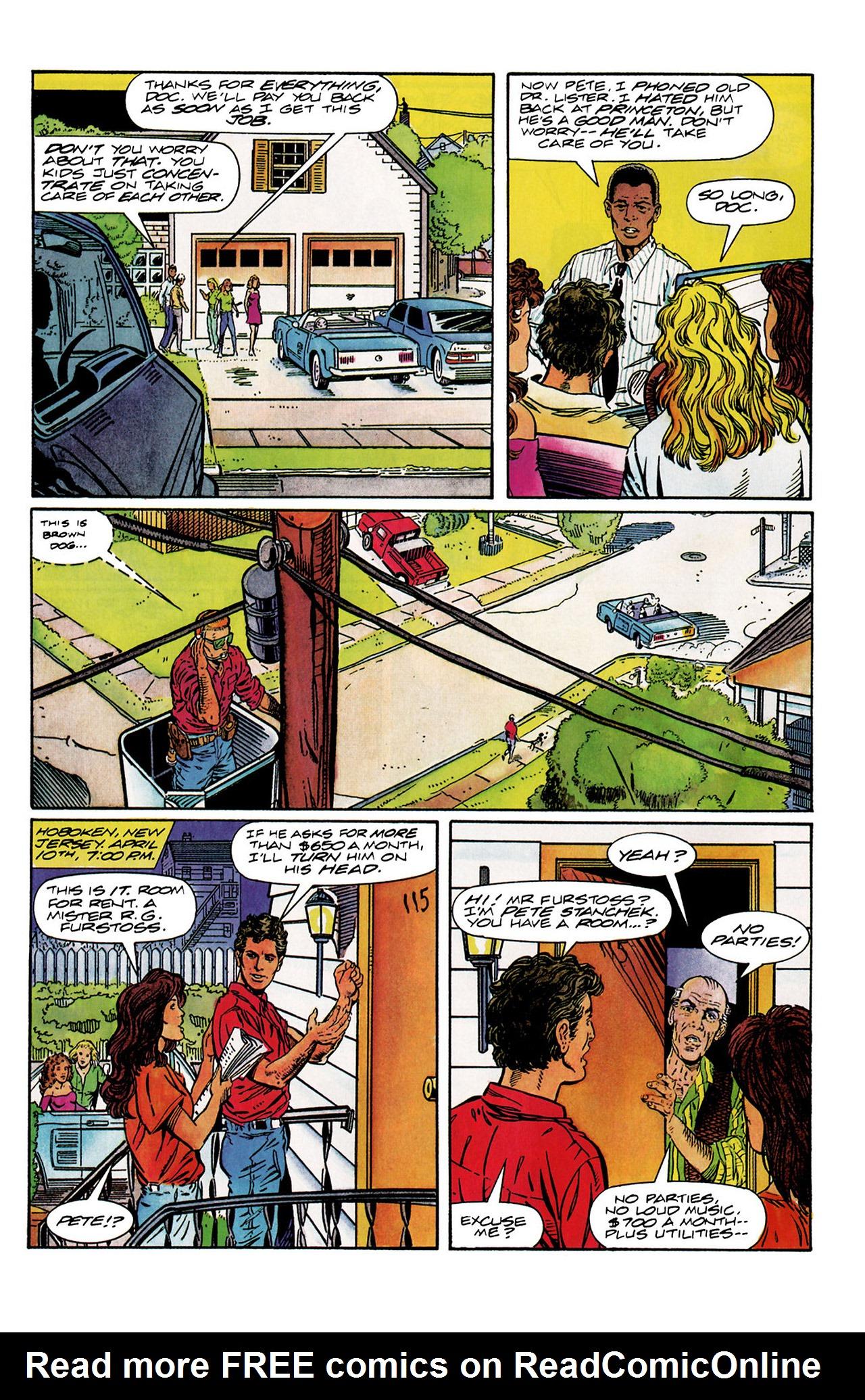 Read online Harbinger (1992) comic -  Issue #10 - 7