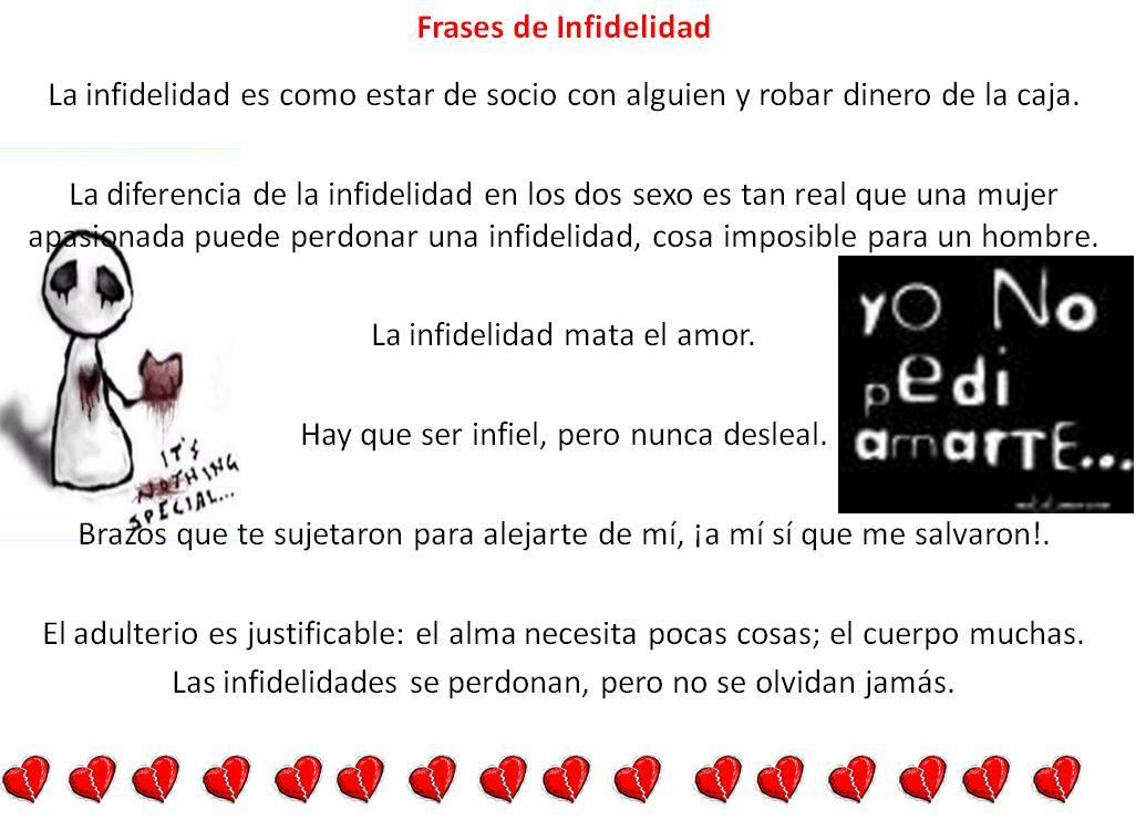 Frases De Infidelidad Frases Amor Y Desamor Poemas Versos