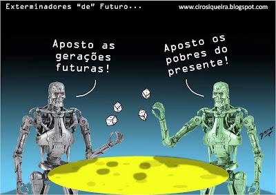 Resultado de imagem para futuro  charge