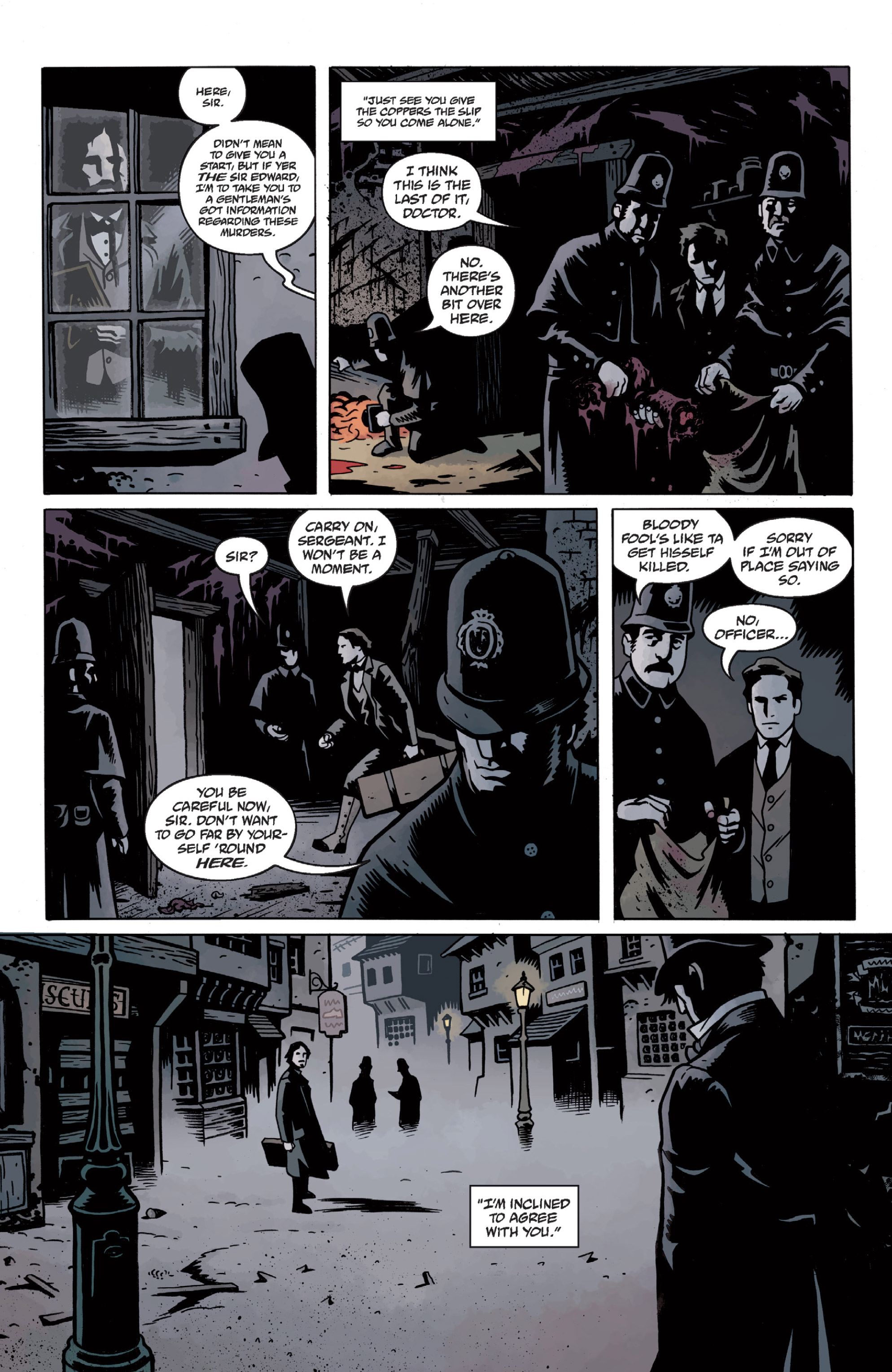 Read online Sir Edward Grey, Witchfinder: In the Service of Angels comic -  Issue # TPB - 33