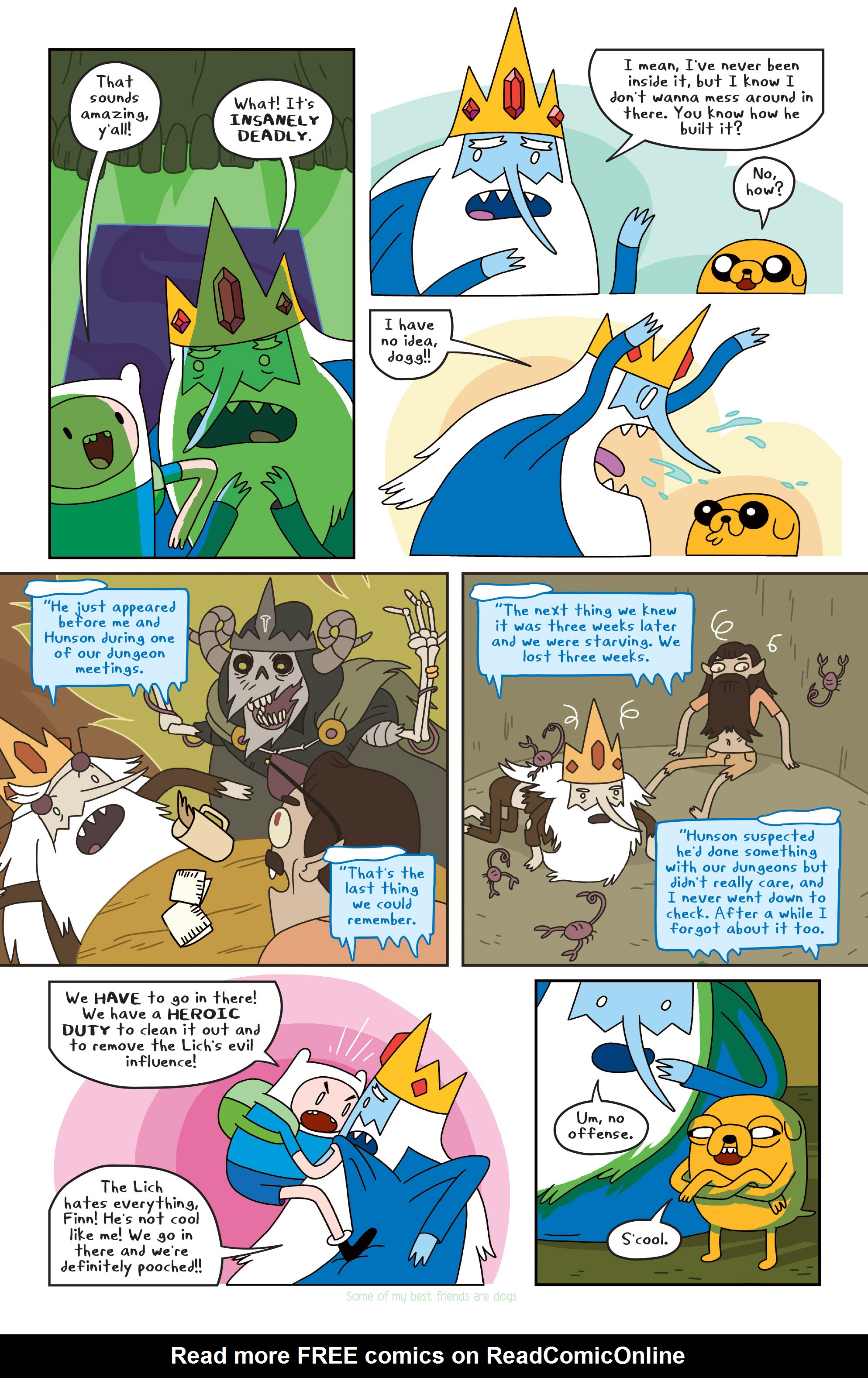 Read online Adventure Time comic -  Issue #Adventure Time _TPB 4 - 70