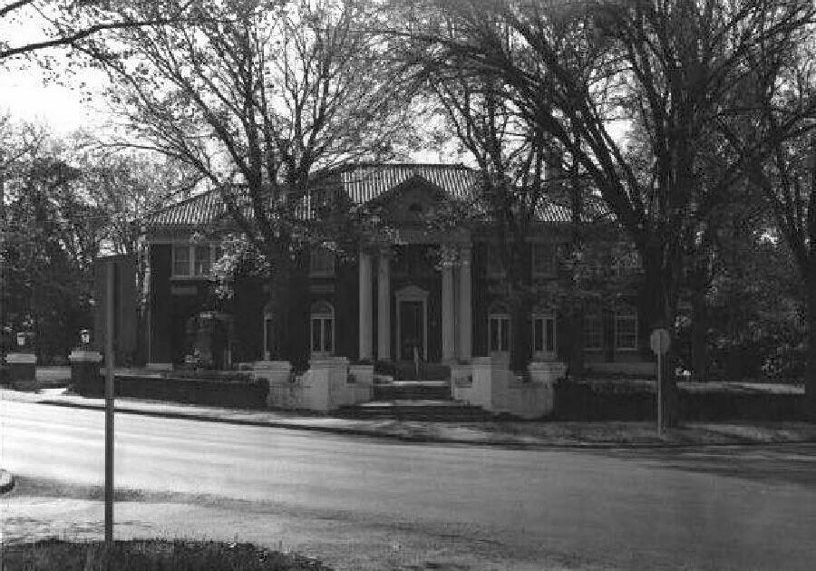 Historic Tulsa Skelly Mansion 1923