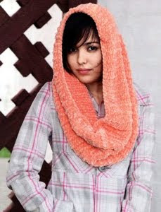 вязание мужского воротника-хомут вместо шарфа. шарф хомут схема для.