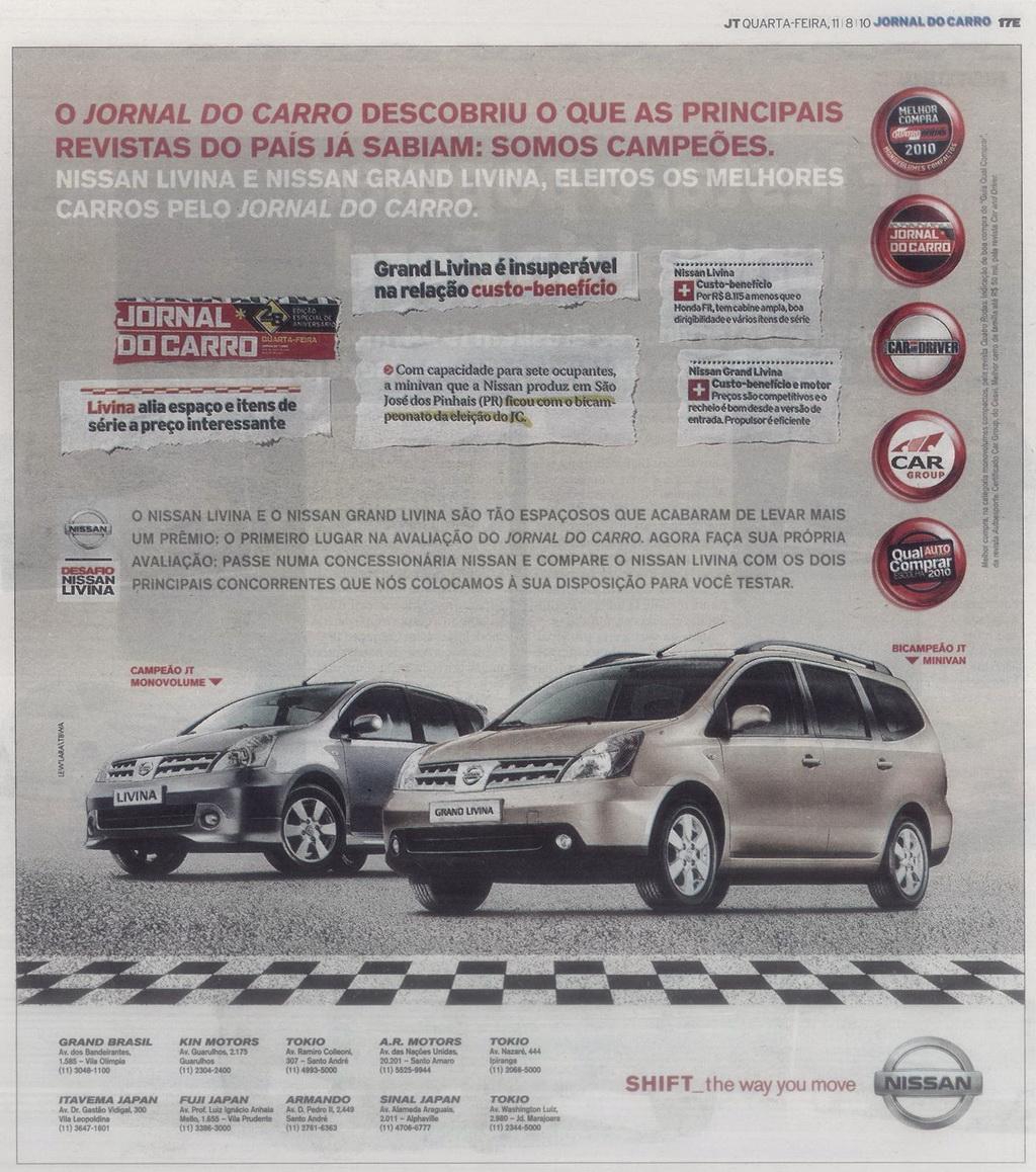 AUTOentusiastas Classic (2008-2014): FOCUS, LIVINA E SEUS