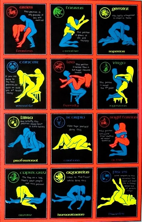 Zodiac Signs Sex Position 19