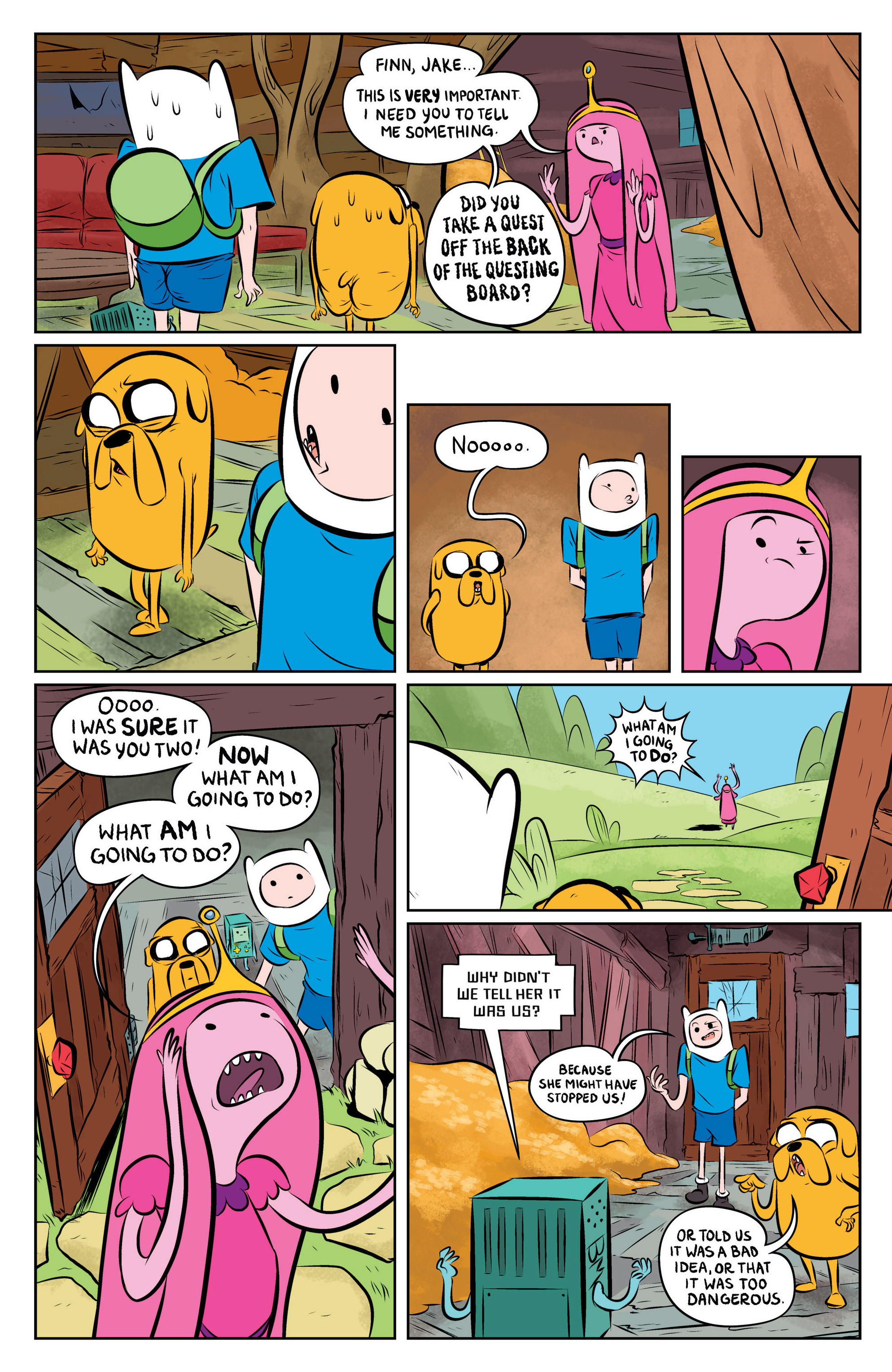 Read online Adventure Time: The Flip Side comic -  Issue #1 - 13