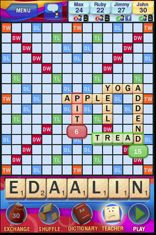 Things I Love - Scrabble - Sincerely Stacie