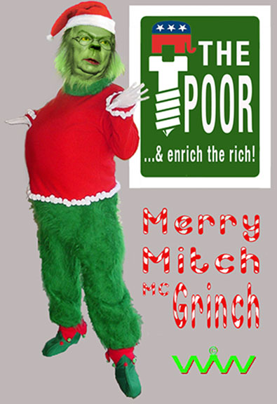 Gop Christmas Message.R I G H T A R D I A Wizard Of Whimsy A Paid Political Xmas