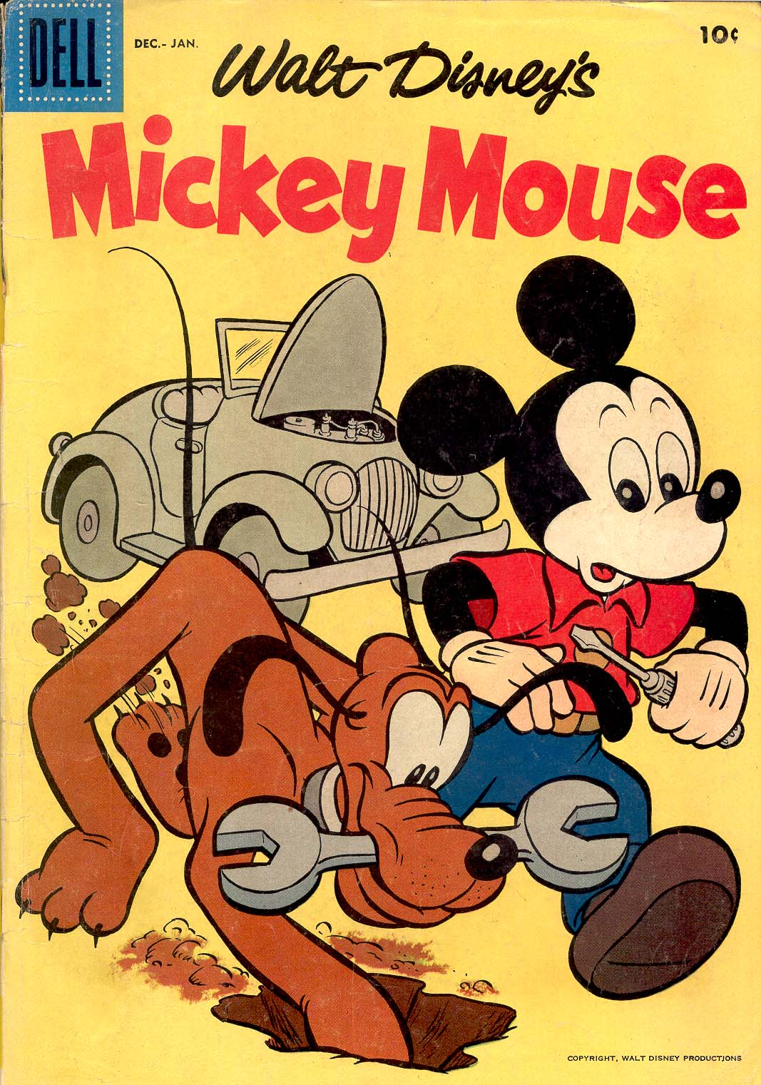 Walt Disney's Mickey Mouse issue 57 - Page 1