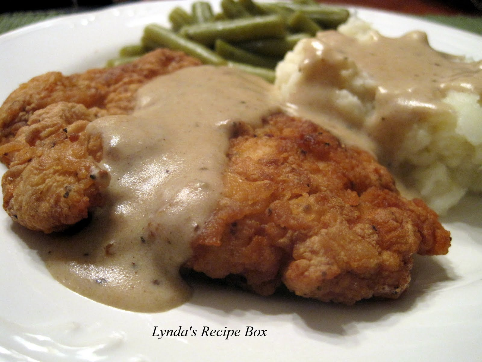 Country fried chicken breast recipes cream