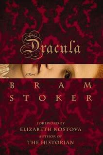 Dracula by Bram Stoker book cover