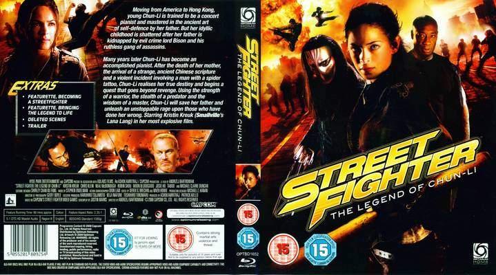 Dvd Covers Street Fighter The Legend Of Chun Li 2009 Blu Ray