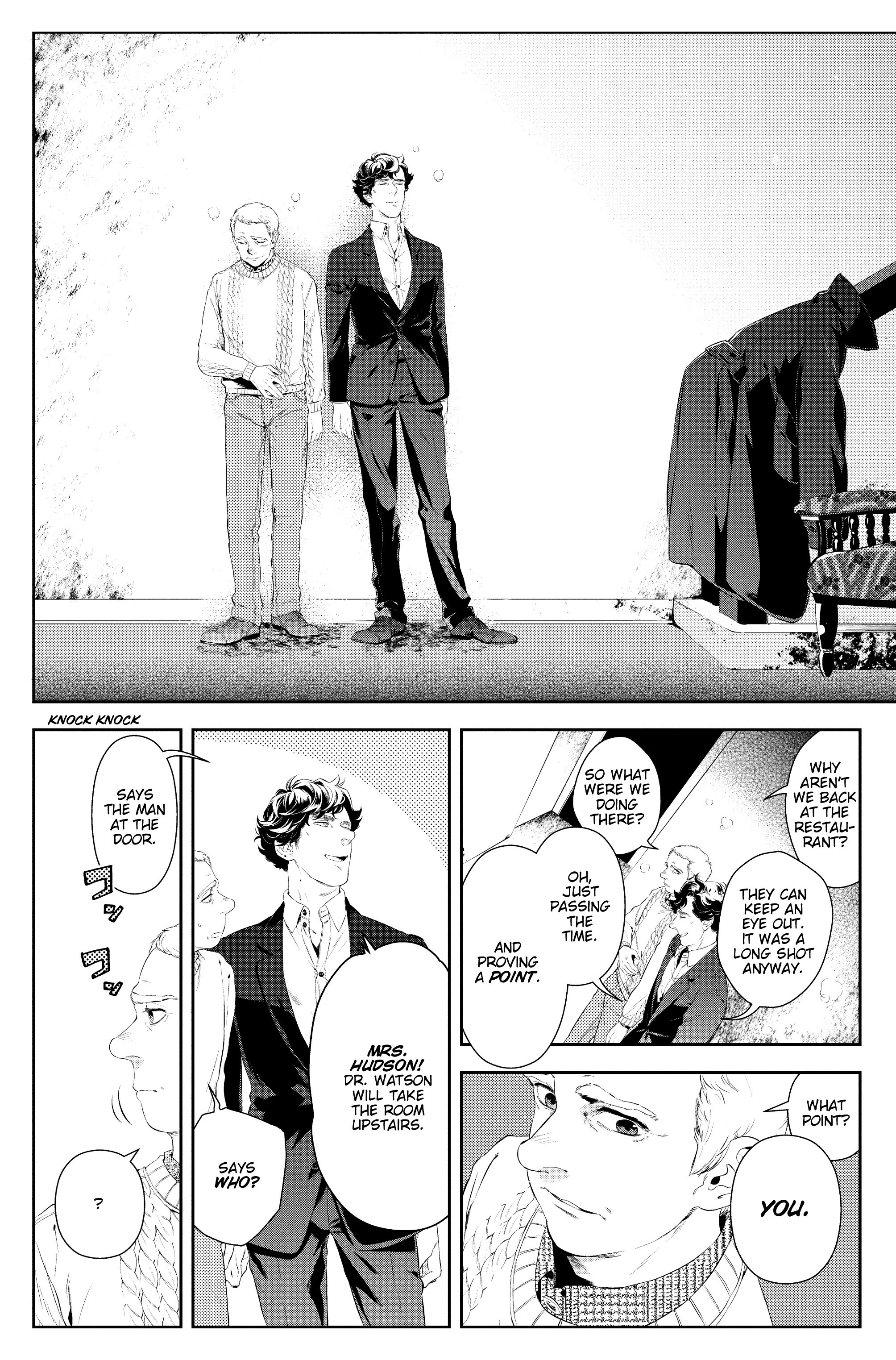 Read online Sherlock: A Study In Pink comic -  Issue #4 - 23