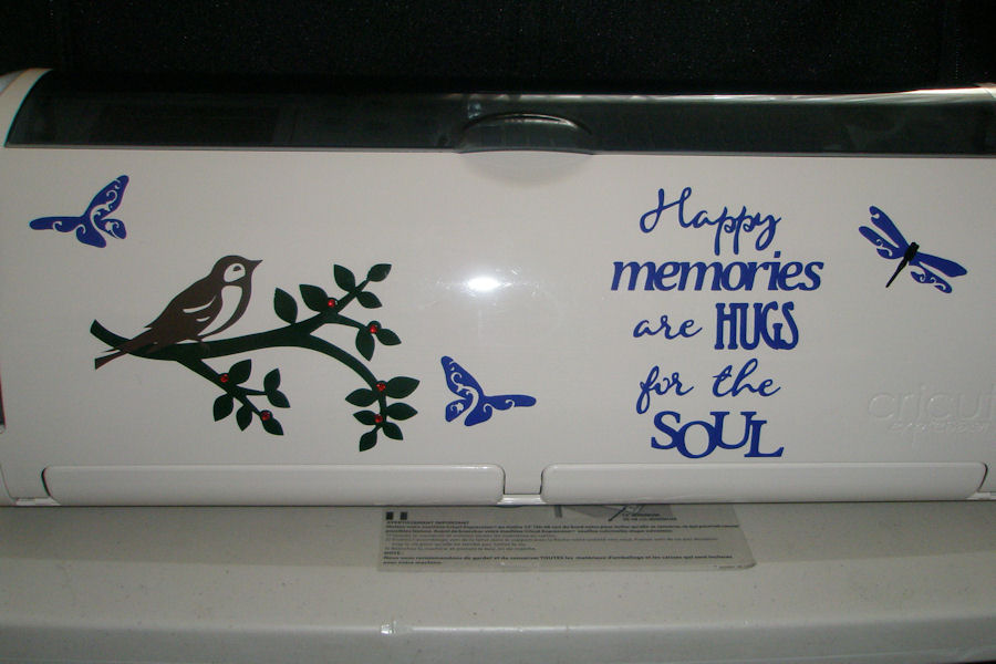 Scrappin' Nana: I Decorated My Cricut