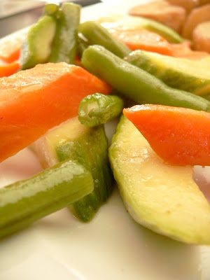 Steamed Vegetables With Thermomix