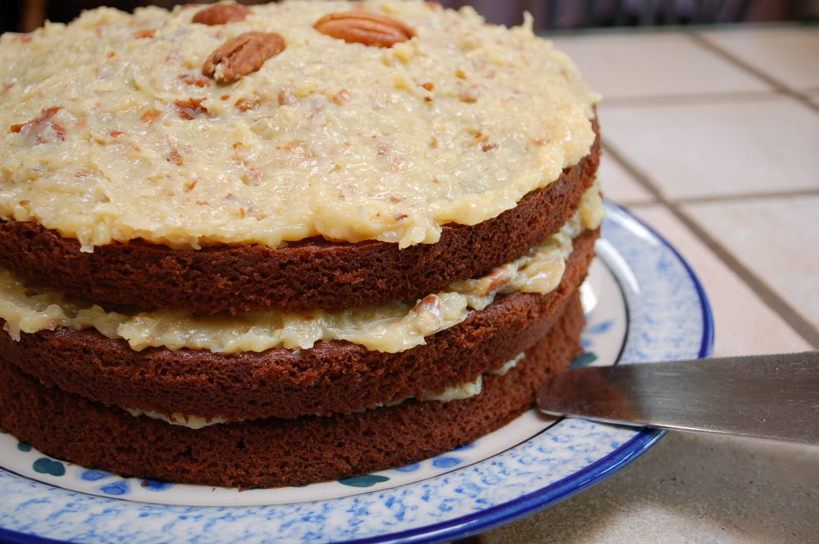 The Spice Garden: German Chocolate Cake and Birthday Wishes
