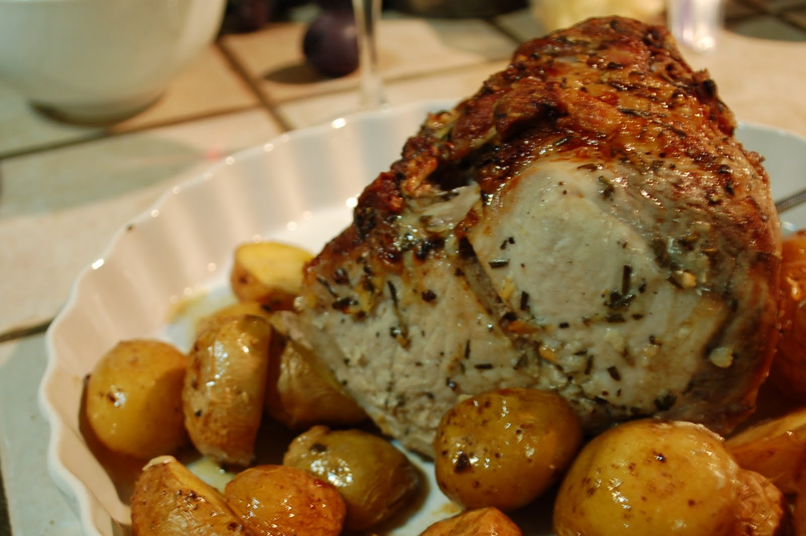 The spice garden easy pork roast florentine style - Christmas pork roast five recipes ...