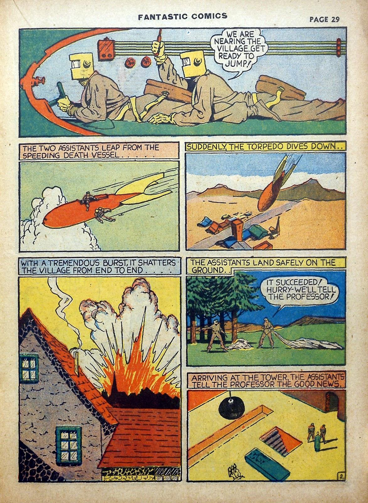 Read online Fantastic Comics comic -  Issue #5 - 30