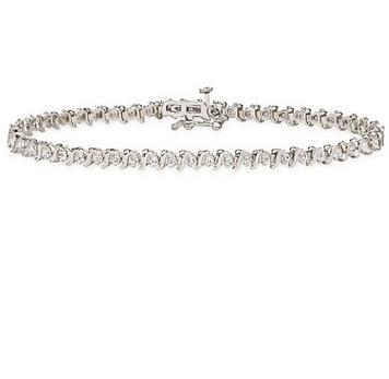 Carat Diamond Bracelet White Gold