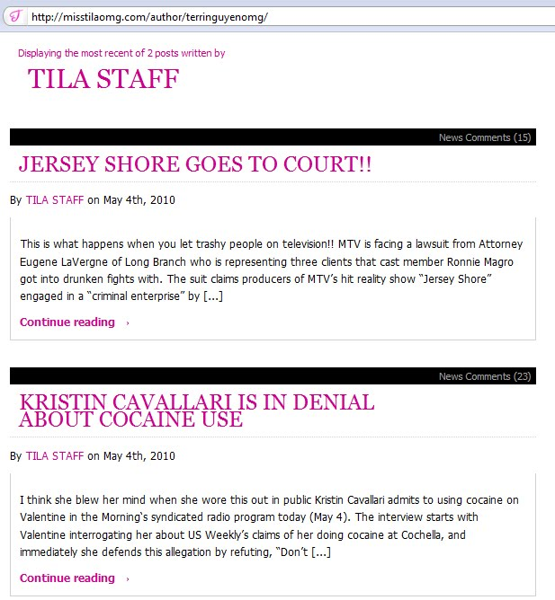 The Tila Truth: Terri Tequila