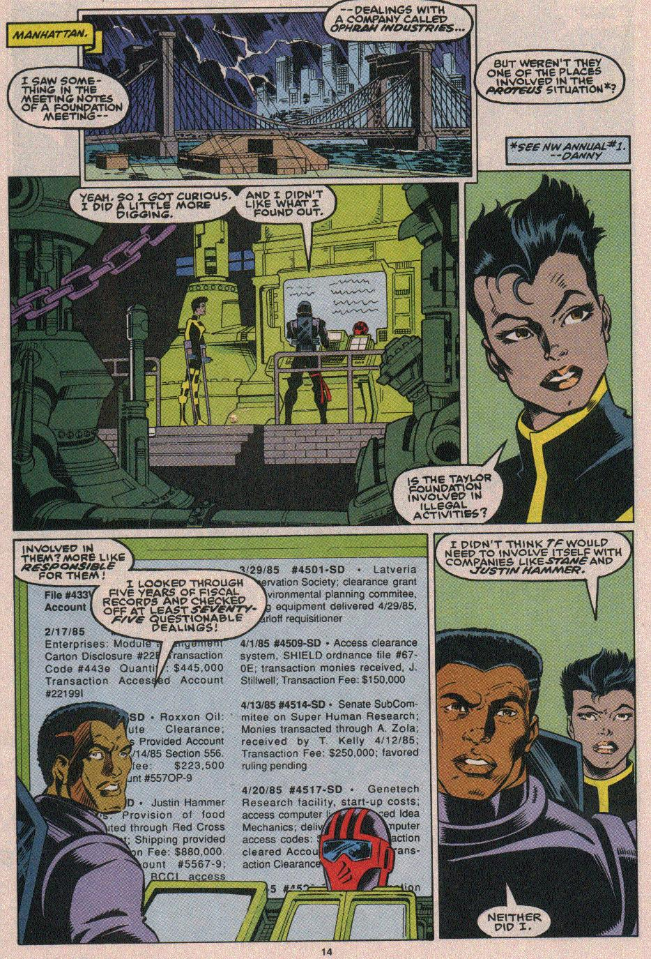 The New Warriors Issue #18 #22 - English 11