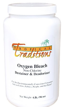 Tropical Traditions Oxygen Bleach Review