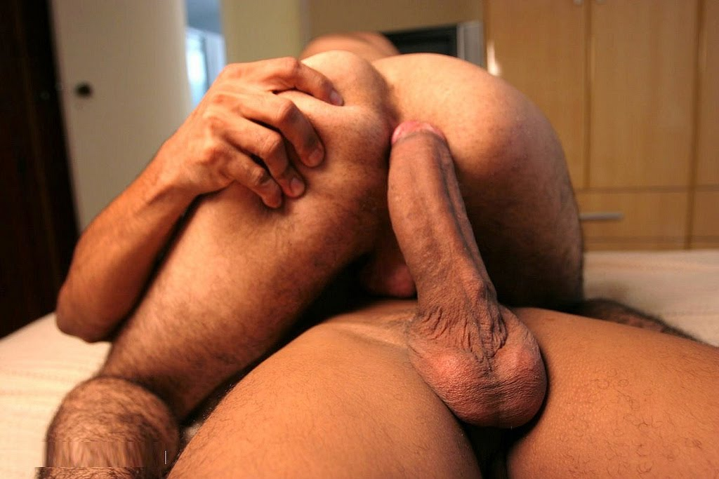 Ass big cock gay man tight