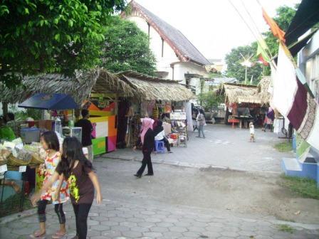 Area outdoor Pasar Kangen Jogja Tahun 2010