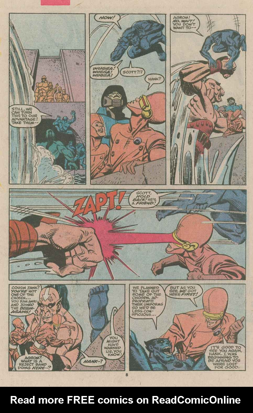 Read online X-Factor (1986) comic -  Issue #49 - 6