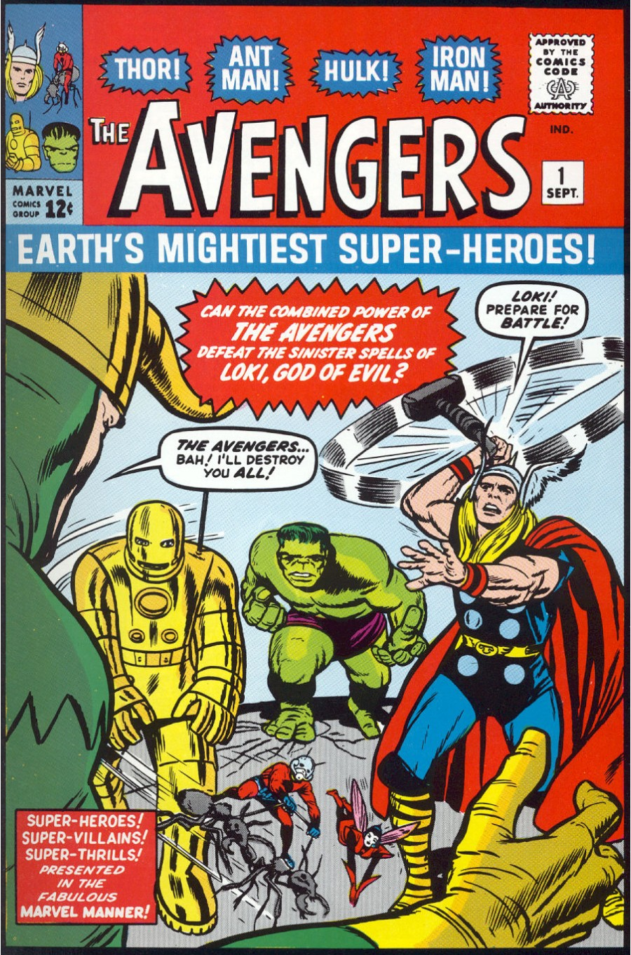 The Avengers (1963) issue 1 - Page 1
