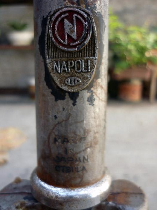 PITRONGSOK: Dijual Frame Sepeda Balap 25 Napoli, Japan