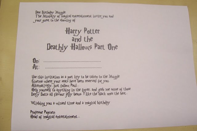happy birthday harry potter font