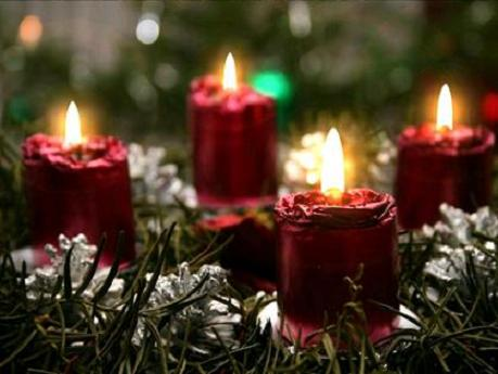 Religious Wallpapers Free Downloads-*Radical Pagan ...  |Christian Christmas Candles