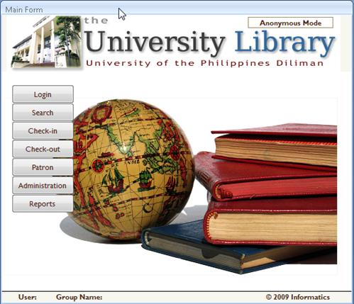 Programming Projects Library Management System Using Access