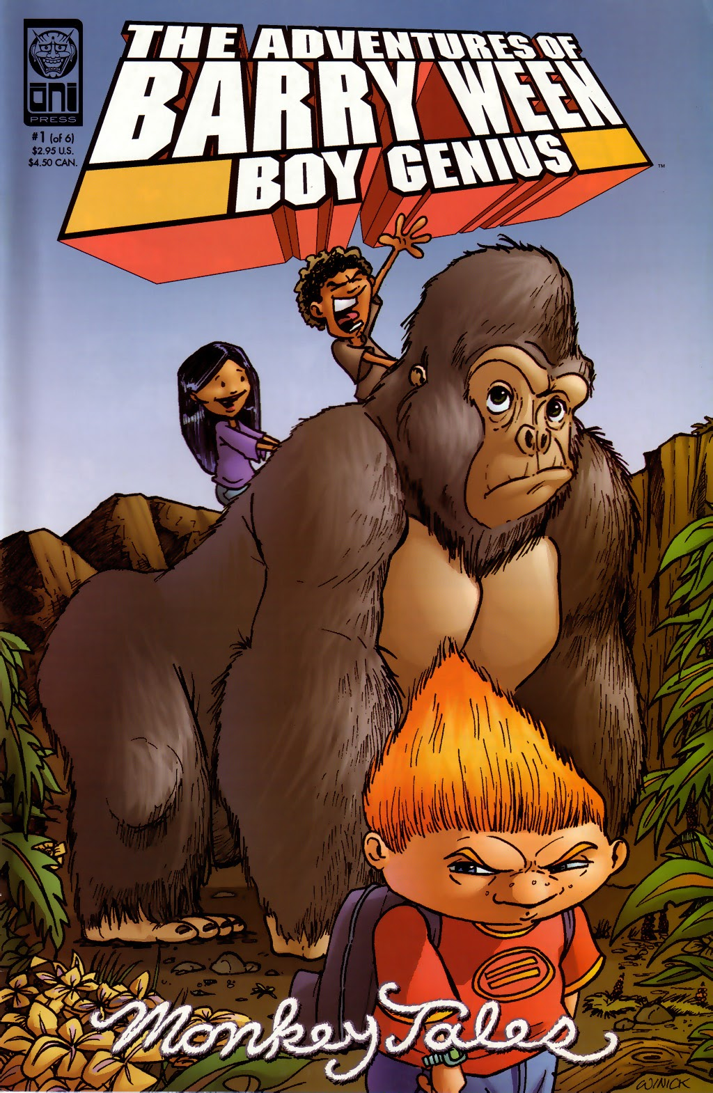 Read online The Adventures of Barry Ween, Boy Genius 3: Monkey Tales comic -  Issue #1 - 1