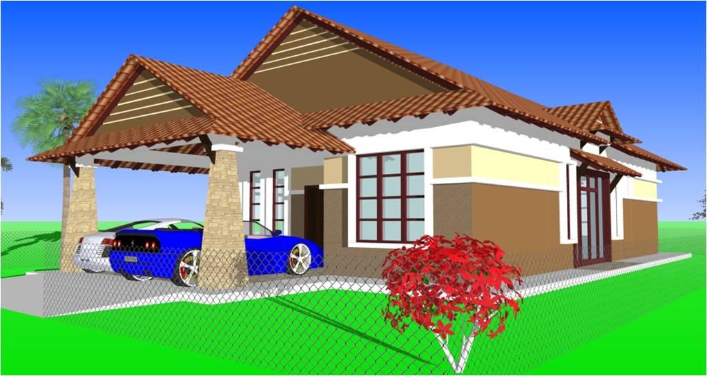 Rumah Banglo Melayu Moden Type B  Batrisya
