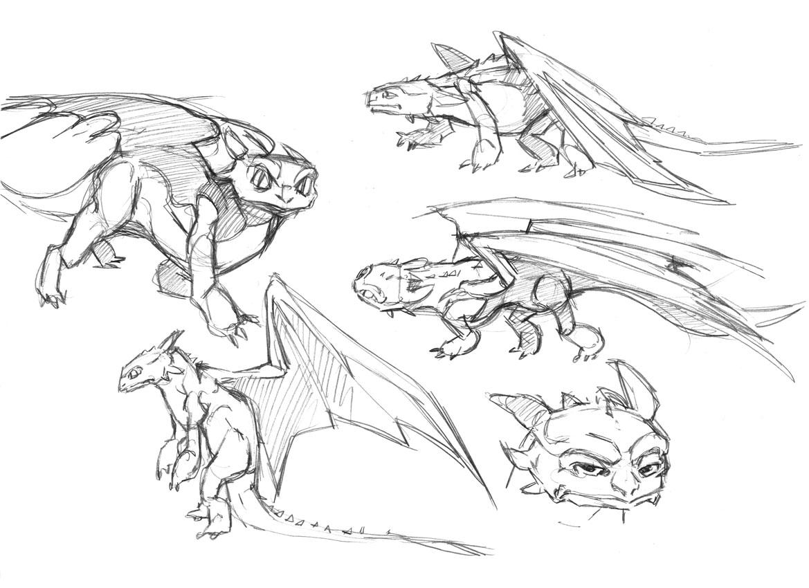Dragon Trainer Da Colorare