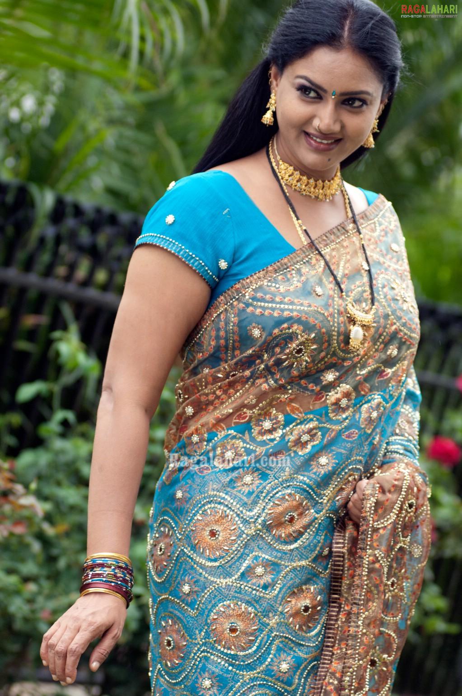 aunty saree raksha aunties tollywood character artist actresses