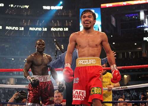 Pacquiao vs Clottey Winner Result - Pacquiao Wins