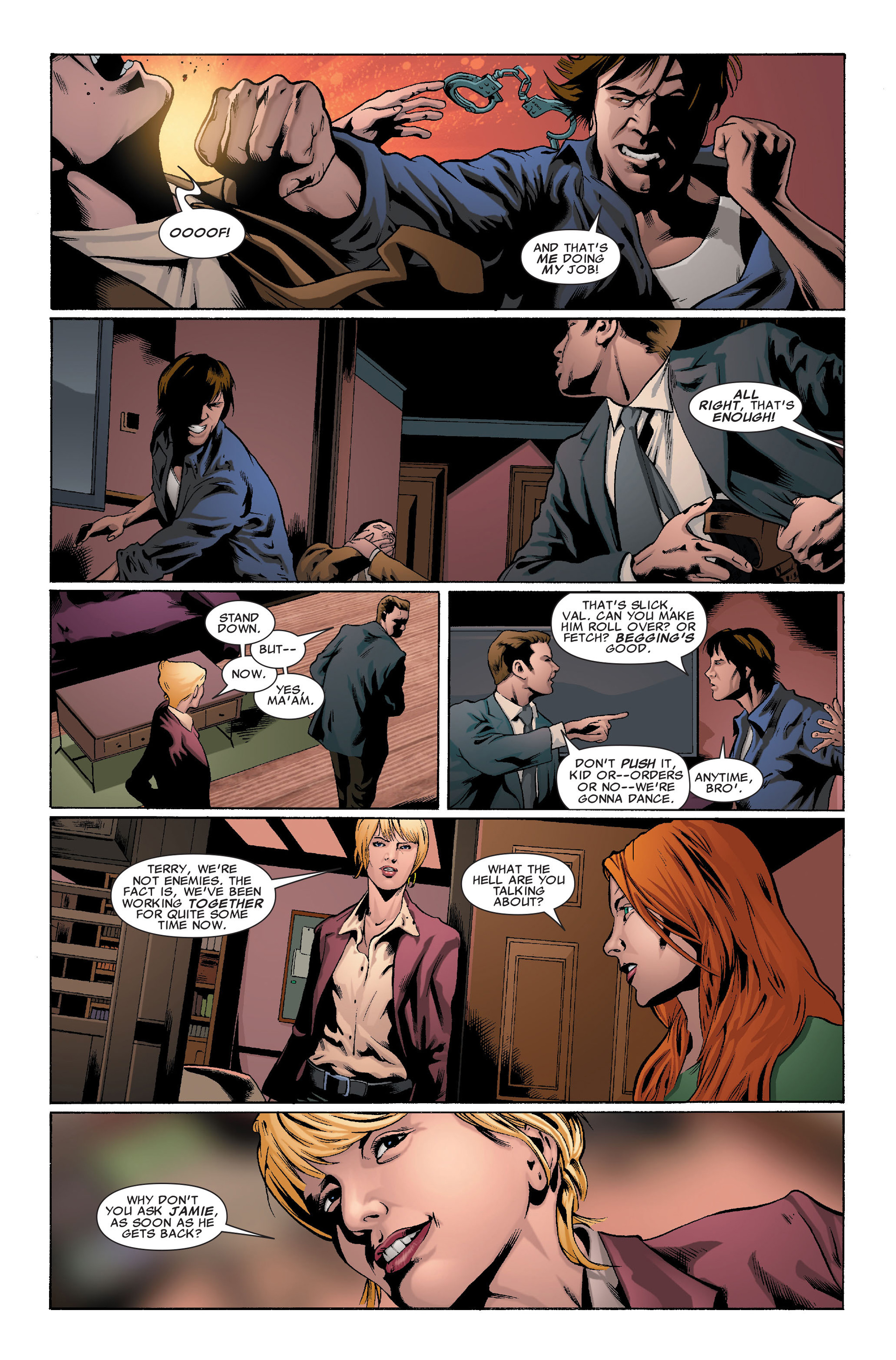 Read online X-Factor (2006) comic -  Issue #37 - 5