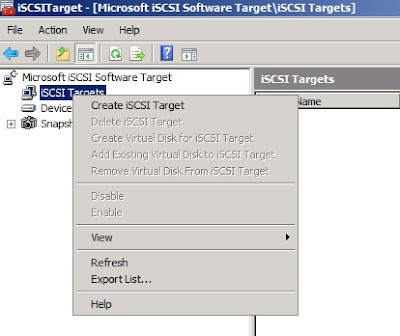 HYPER-V,SYSTEM CENTER AND AZURE: Building an ISCSI target