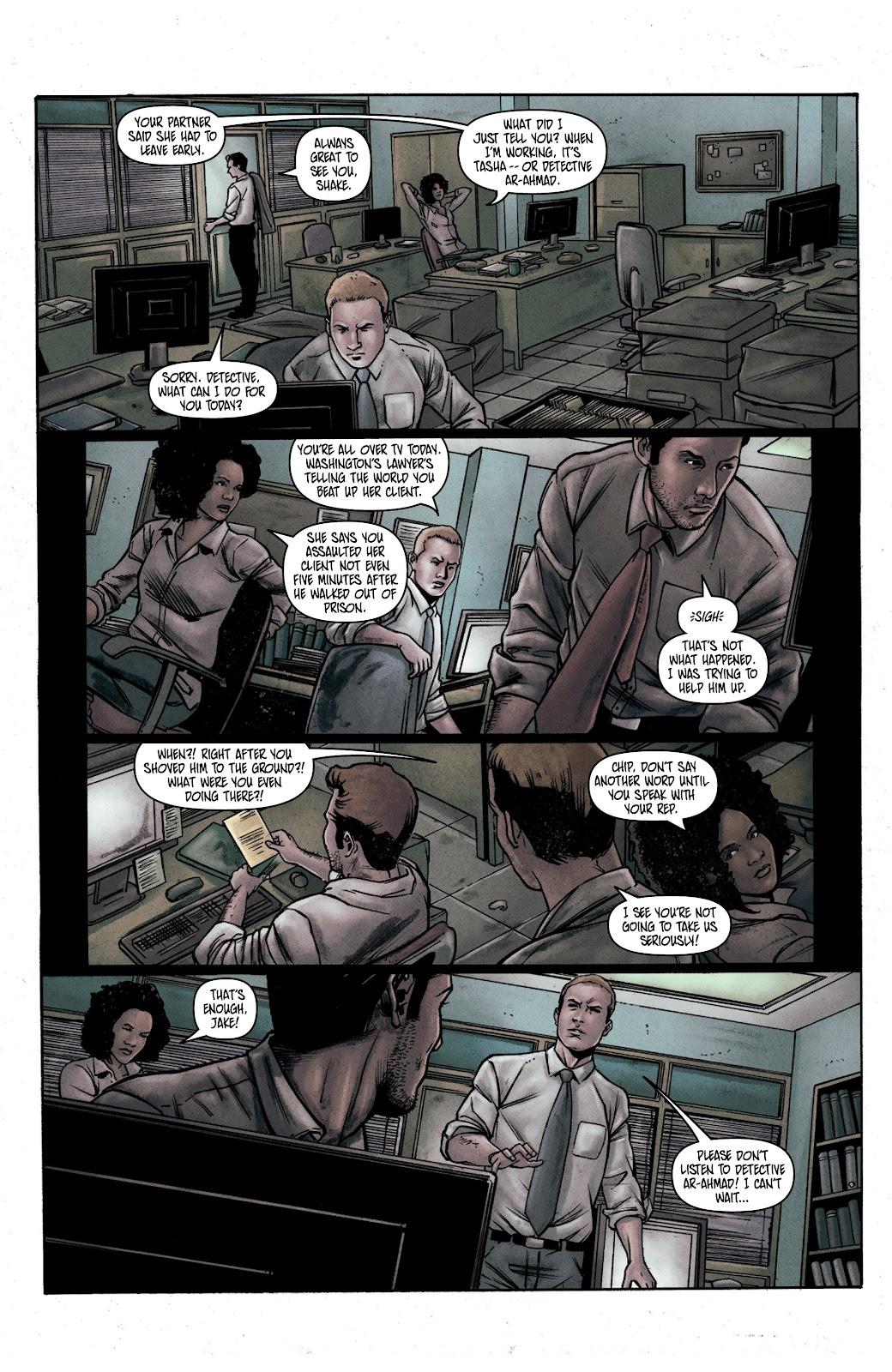 Read online Vindication comic -  Issue #1 - 22